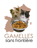 Gamelles sans frontière association de protection animale logo