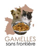 Gamelles sans frontière association de protection animale logo