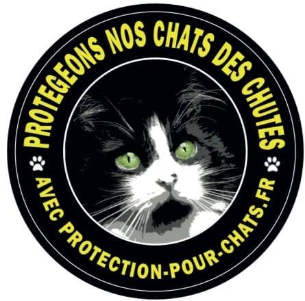 Filet Protection Pour Chats BRUNO & TEDDY